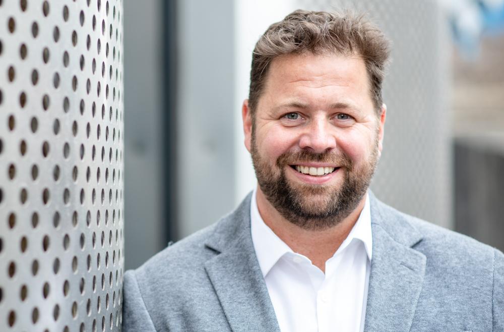 Managing director David Halliday
