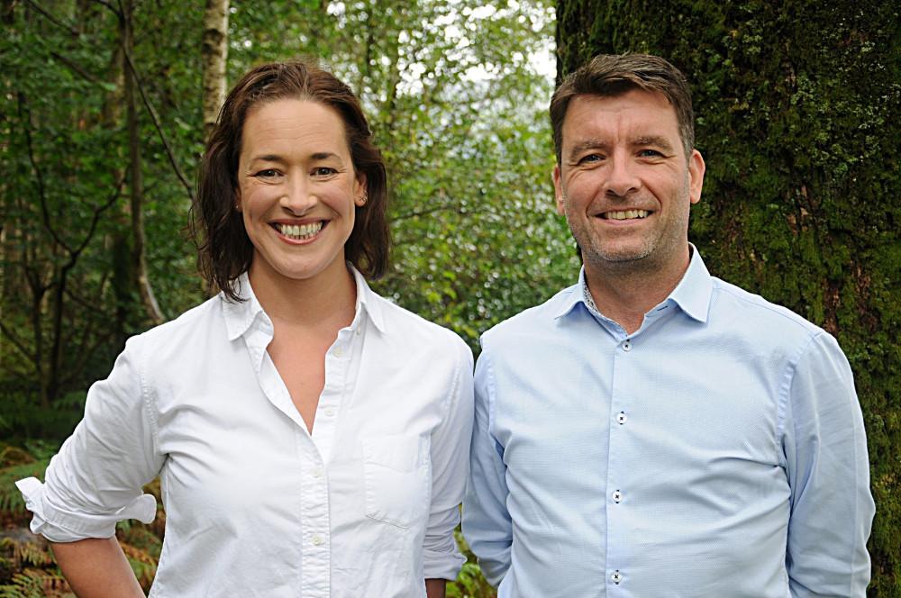 Fiona Campbell and Mark O'Neill