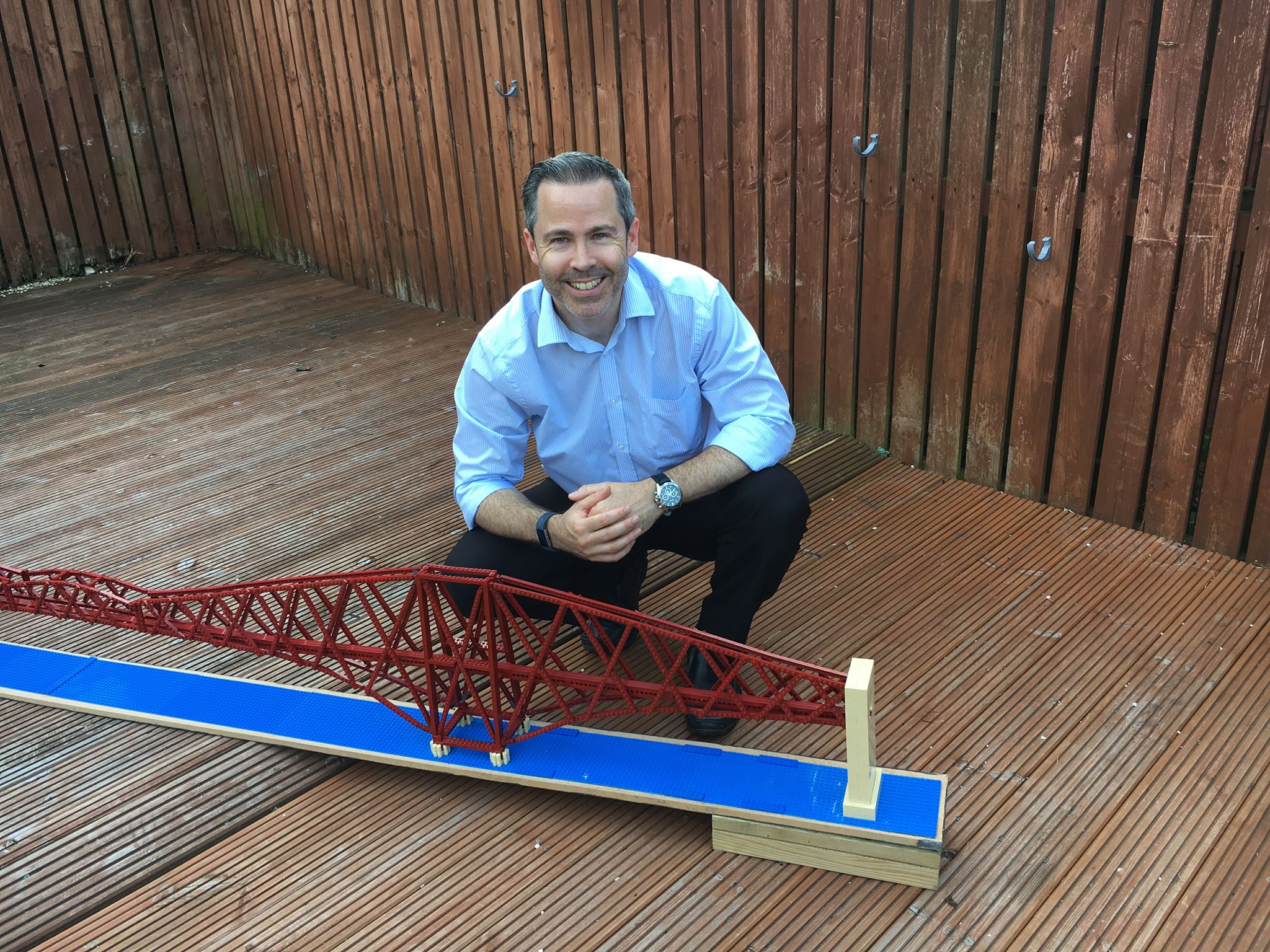 And finally    Engineer completes 4 7m Lego model of Forth