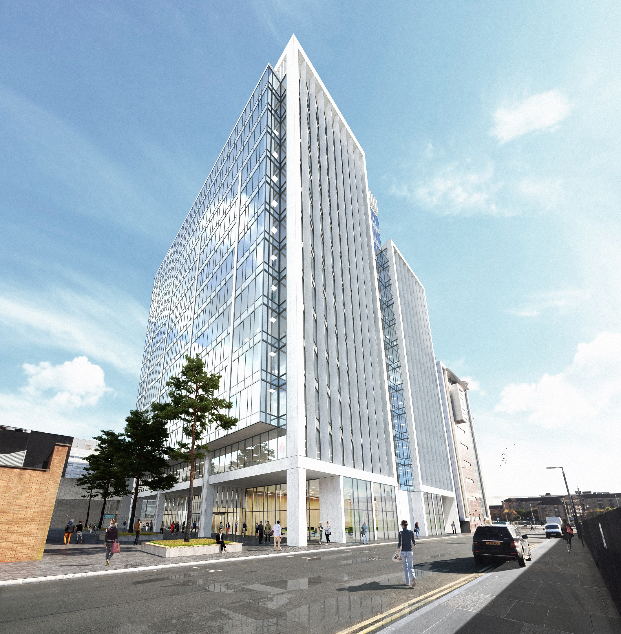 Green Light For New Glasgow Financial District Office