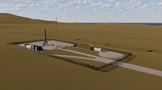 - space hub sutherland artists impression of launch pad - BAM Nuttall and Arup begin ground investigations for Space Hub Sutherland